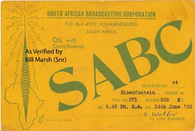 SABC 03 Bloefontein 809 kc copy
