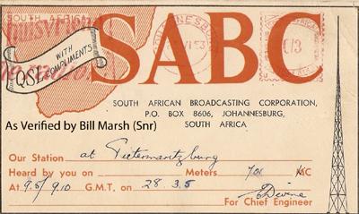 SABC 06 Pietermaritzburg 701 kc copy