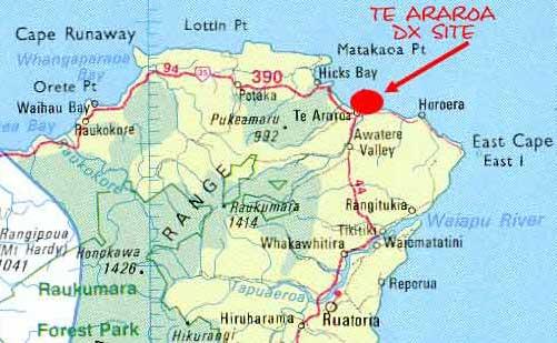 Te_Araroa_Map