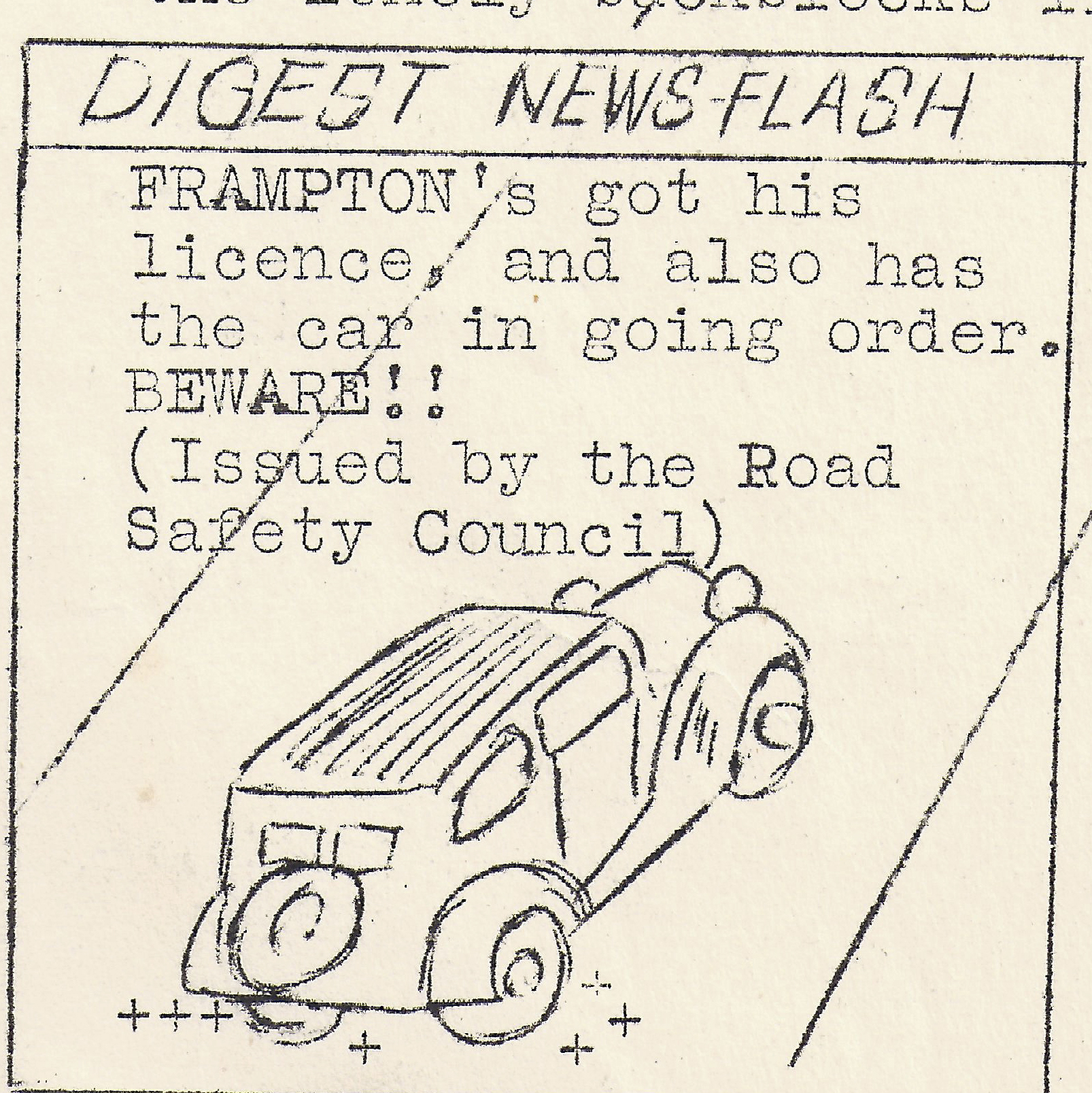 Newsflash Aug 1956