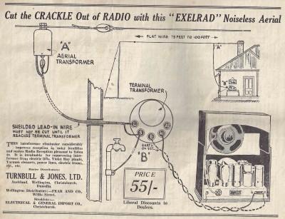 Exelrad Noiseless Aerial (1937)