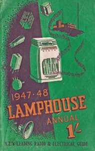 Lamphouse Annual 1947-48 Cover