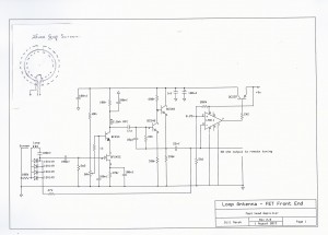 X-Band Cascode RF Amplifier (Schematic)